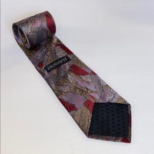 Vintage Bugatti Italian Silk Tie